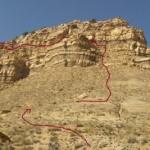 Tarantula Mesa Ascent