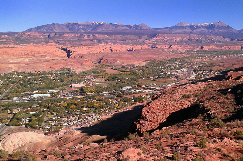View from Moab Rim