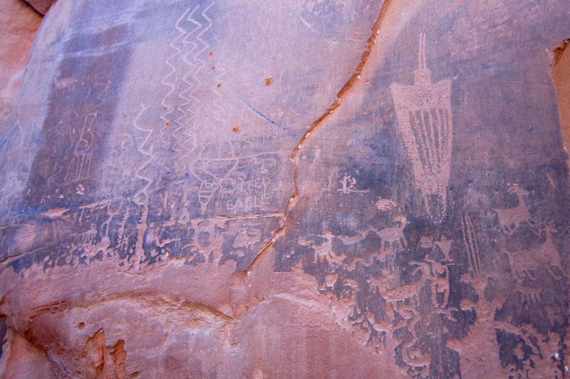 Kane Springs Petroglyphs