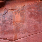Petroglyphs NE of Rock Canyon