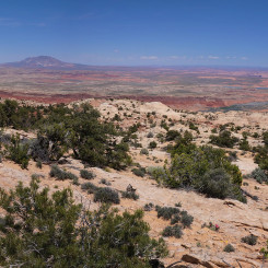 Eastern Panorama from top of The Fold