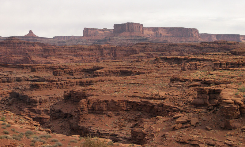 looking across to Dead Horse Point