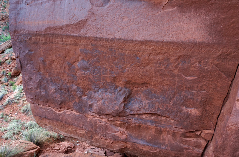 Kitchen Canyon Petroglyphs