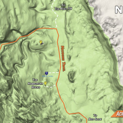map of Muley Tanks area south of LMT