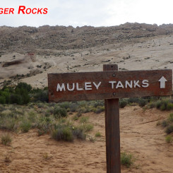 Hamburger Rocks seen south of Muley Tanks