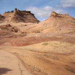 Junction of West Fork (left)