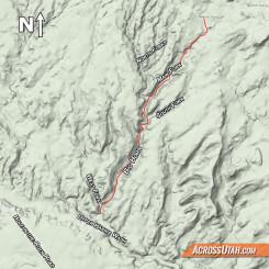 Big Horn Canyon Map