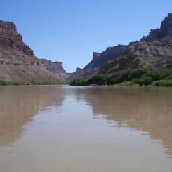 the Colorado at Spanish Bottom