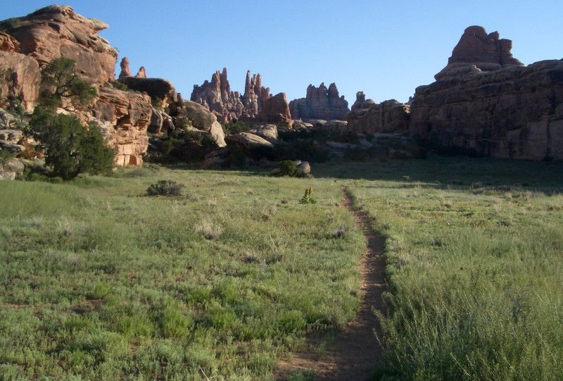 Trail through Devil's Pocket