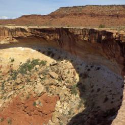 Horse Canyon edge