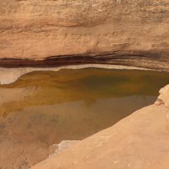 tanks at bottom of North Trail Canyon