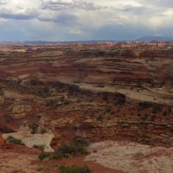 view along ridge route